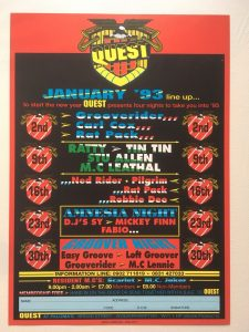 Classic Rave Flyers